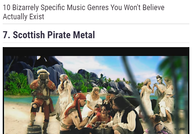 scottish pirate metal